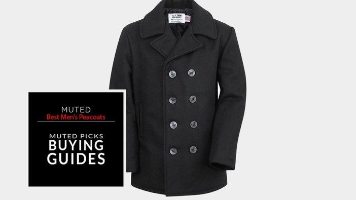 5 of the Best Men's Pea Coats