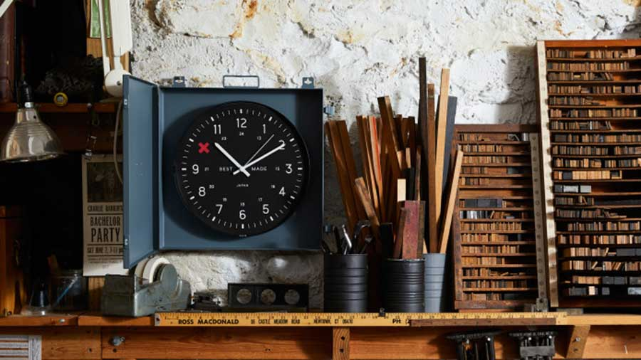 Best Made Co. Workshop Clock