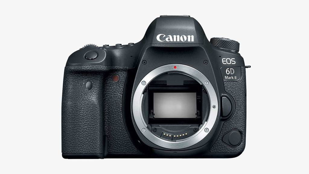 best full frame cameras - Canon EOS 6D Mark II