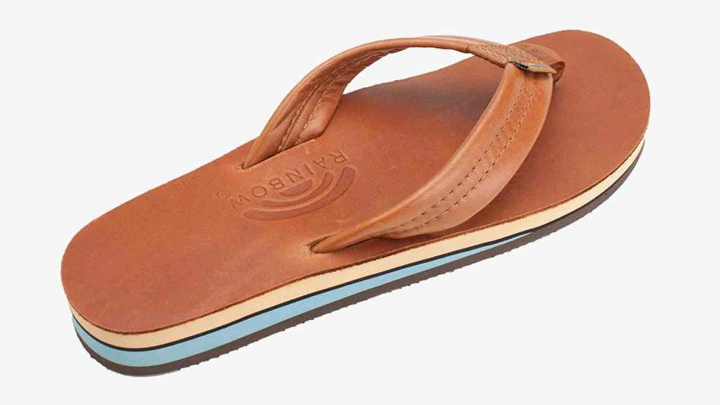 Rainbow Best Men's Flip Flops