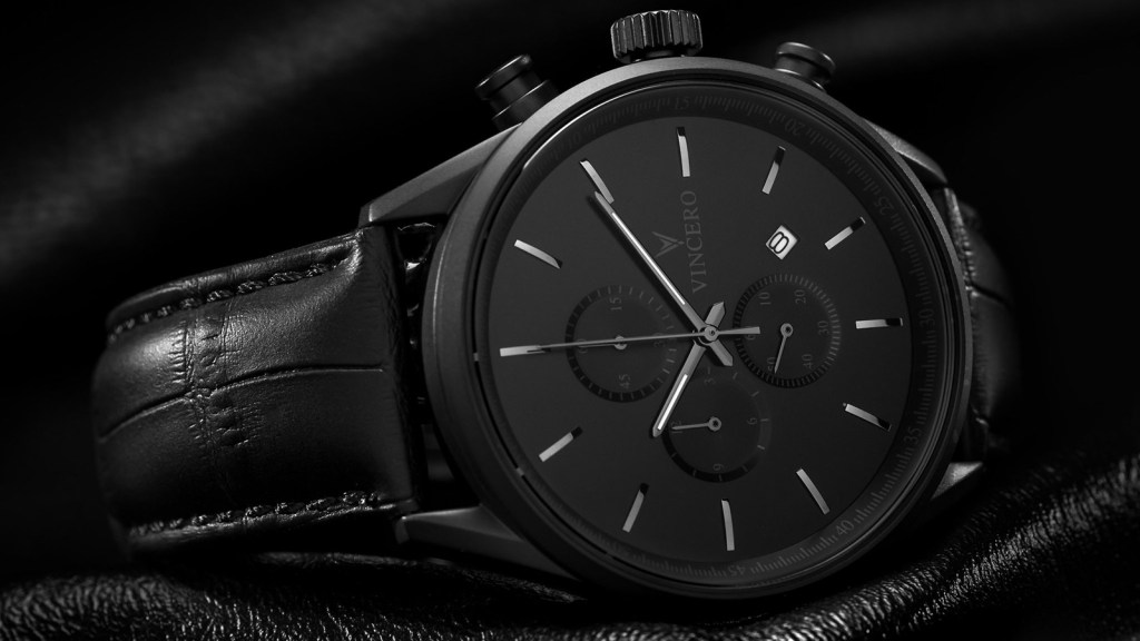 The Vincero Chrono S Matte Black Men's Watch