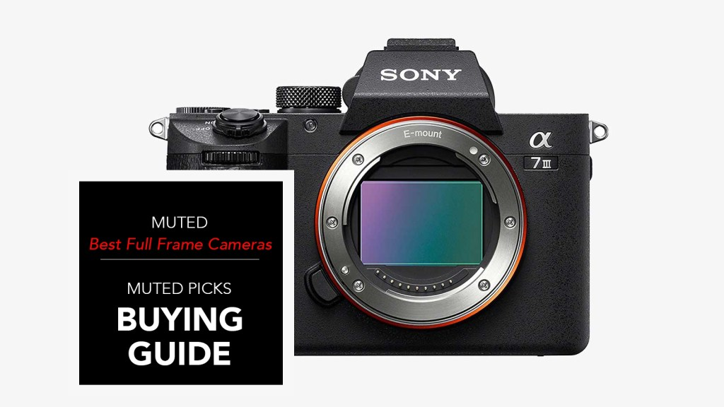 best full frame cameras
