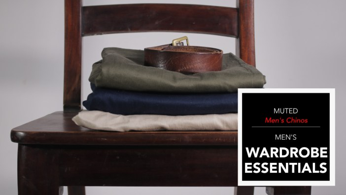 Mens Wardrobe Essentials - Chinos