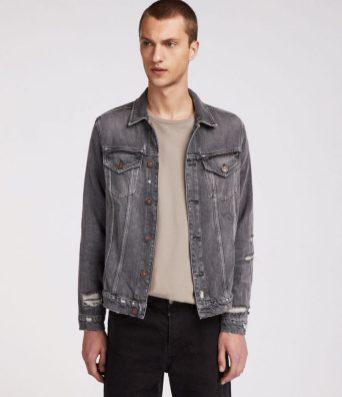 best mens denim jackets - All Saints Beltar Denim Jacket