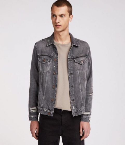All Saints Beltar Denim Jacket