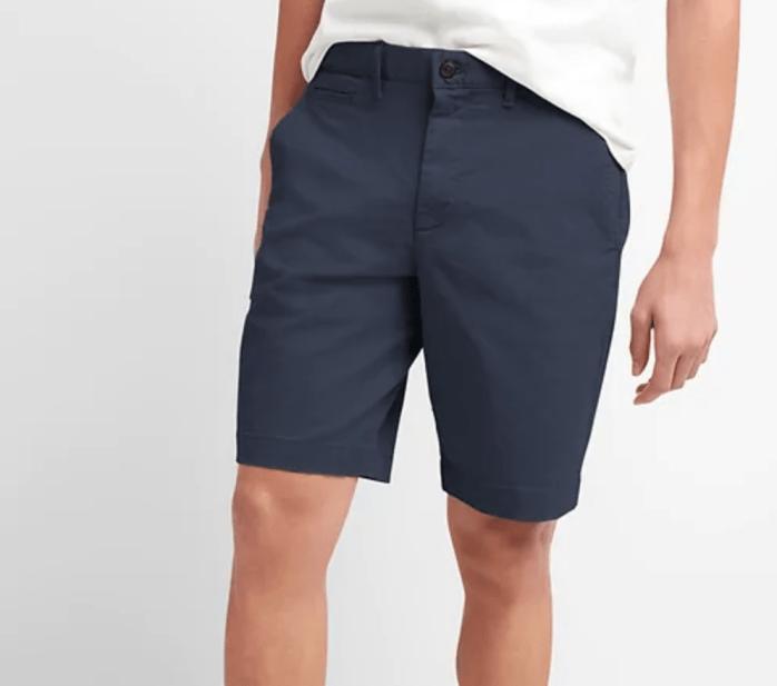 Gap Vintage Wash Chino Shorts-1