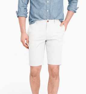J-Crew Stretch Chino Shorts-1