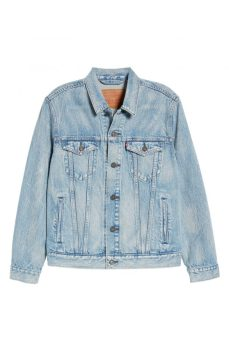 best mens denim jackets - Levis Trucker Denim Jacket light wash