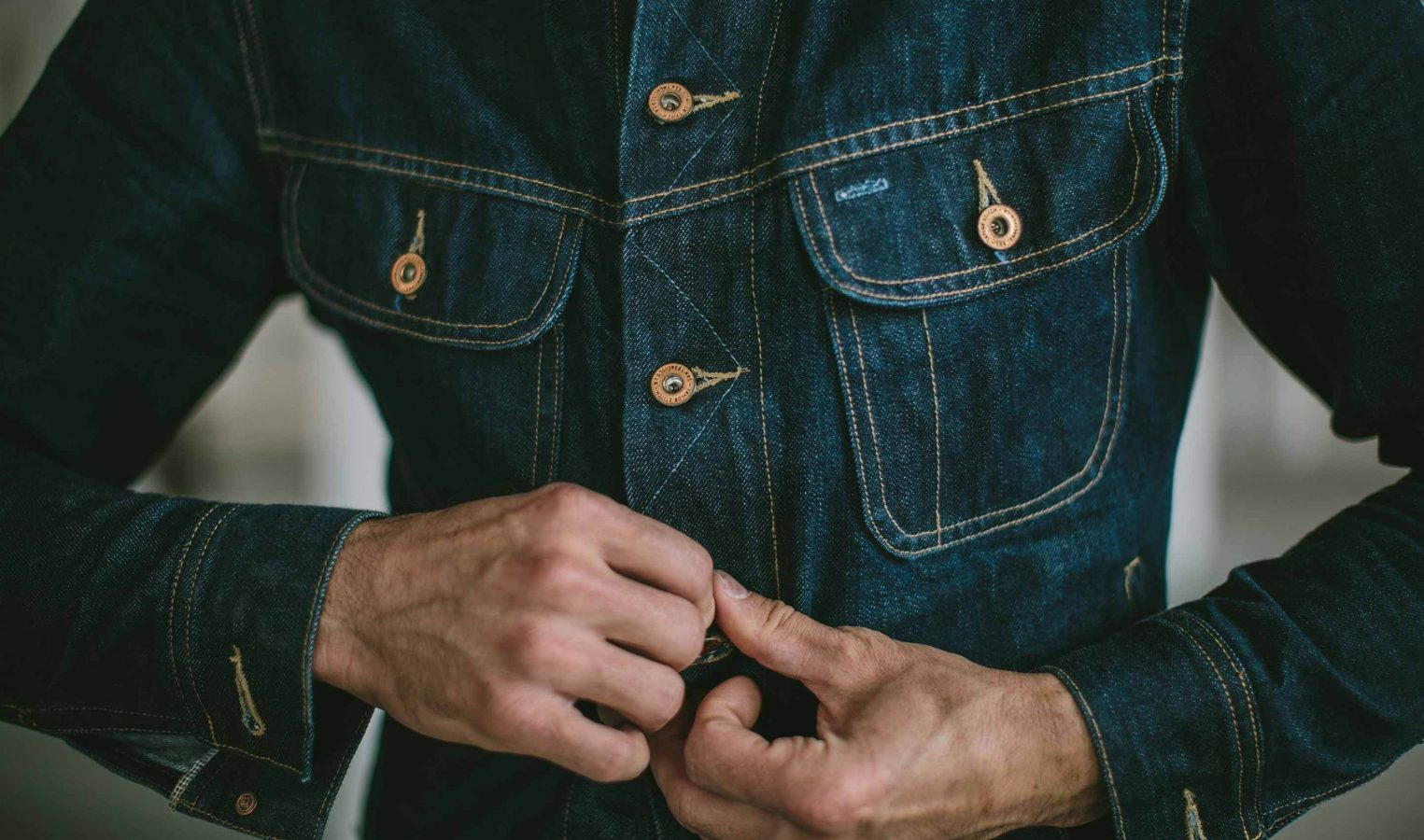 best mens denim jackets - Taylor Stitch Long Haul Denim Jacket