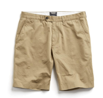 Todd Snyder Hudson Tab-Front Chino Shorts-1