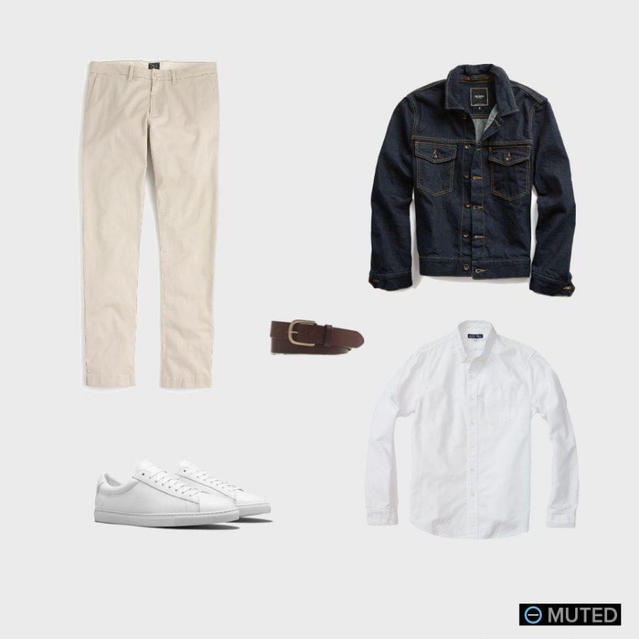 best mens denim jackets - best mens outfits #3