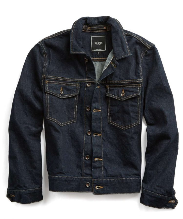 Men's Fall Fashion Essentials Denim Jean Jacket