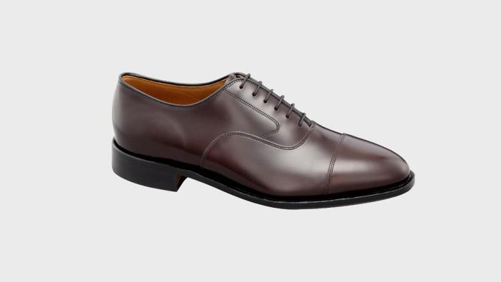 allen edmonds park avenue cap toe oxford dress shoe