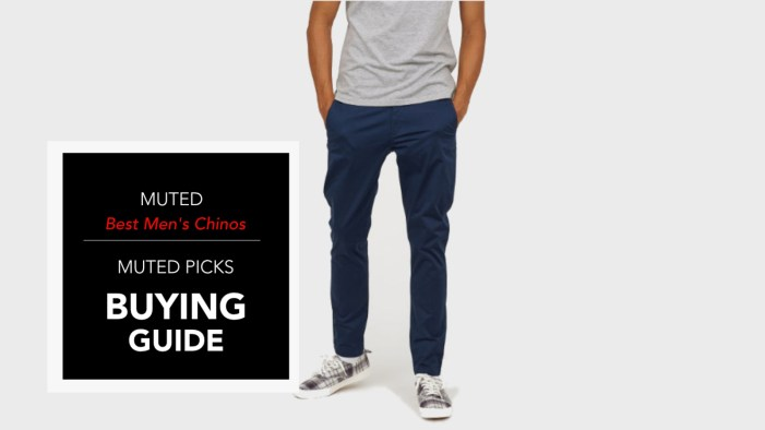 5 of the Best Men's Chinos