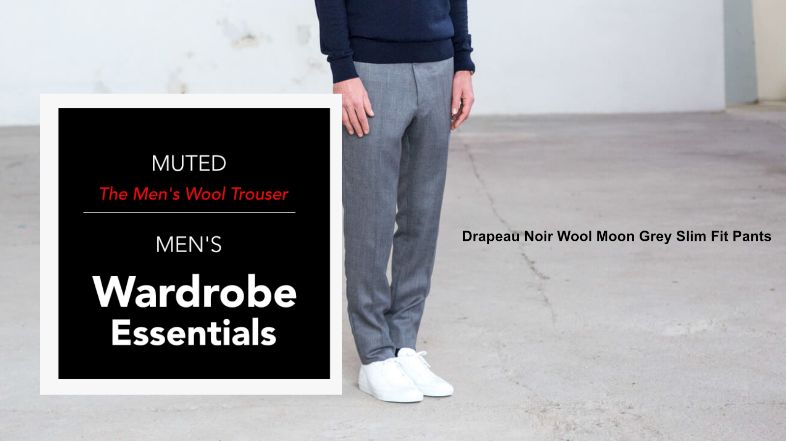 best mens wool trousers