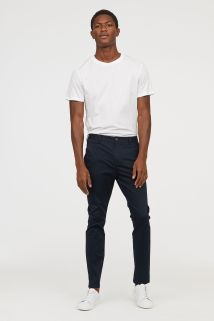 HM-Slim Fit Cotton Chinos-1
