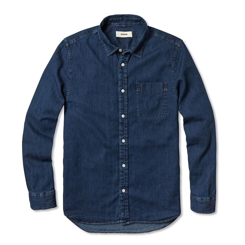 Buck Mason Best Men's Denim Shirts