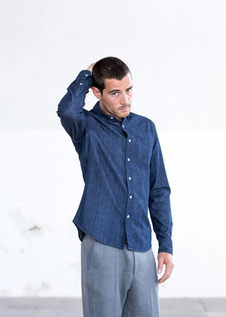 drapeau noir best denim shirts for men
