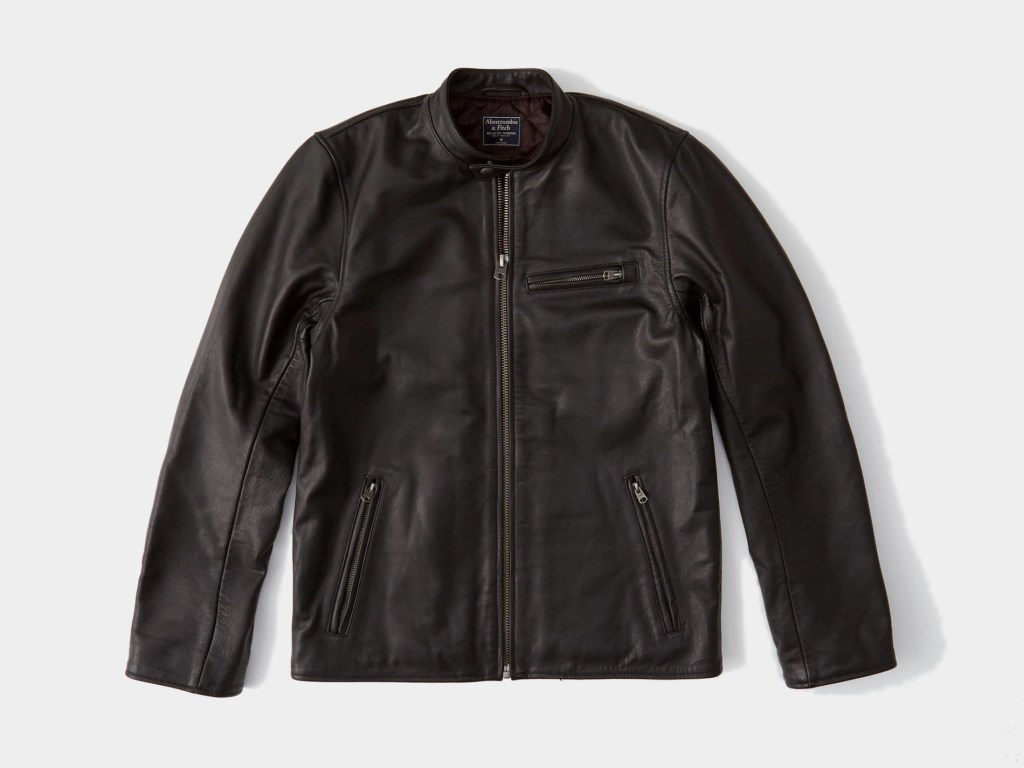 Abercrombie & Fitch Best Men's Leather Jacket