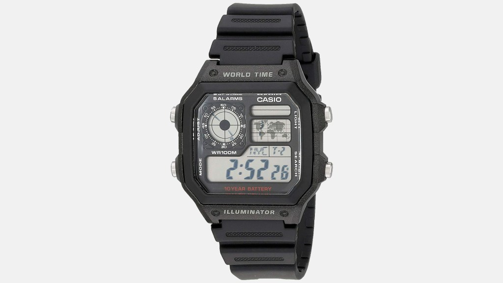 Casio Classic Black Best Digital Watches for Men