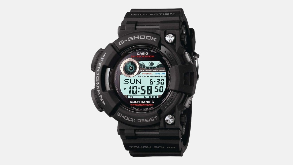 Casio Frogman Best Digital Watches for Men