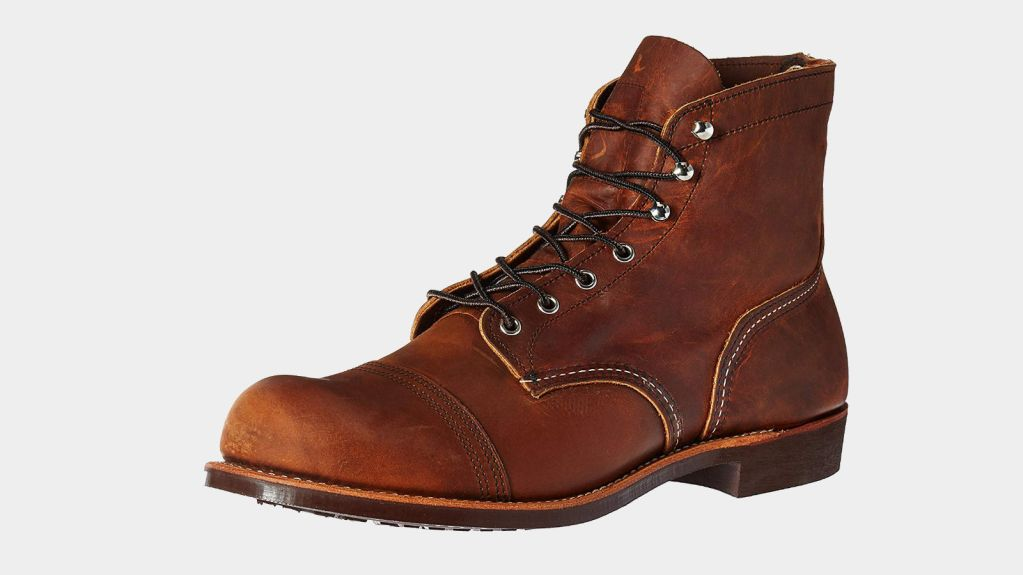 Red Wing American Made Work Boots