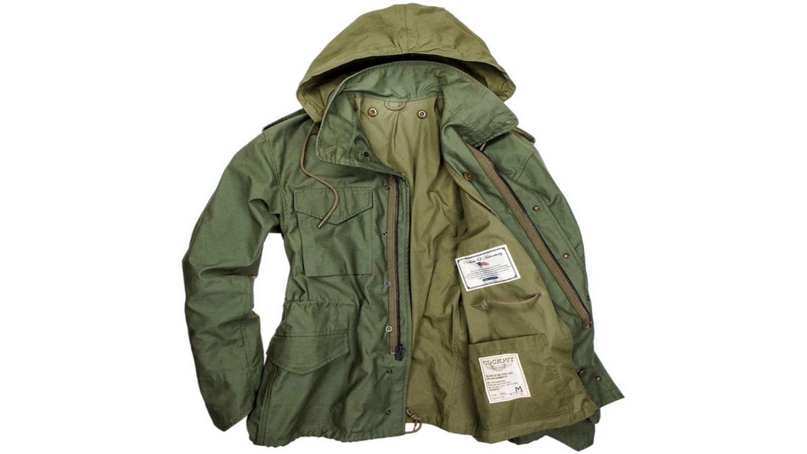 Cockpit USA Men's Military Spec M65 Field Jacket Men's Winter Fashion