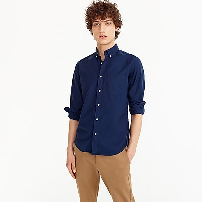 J. Crew American Pima Cotton Oxford