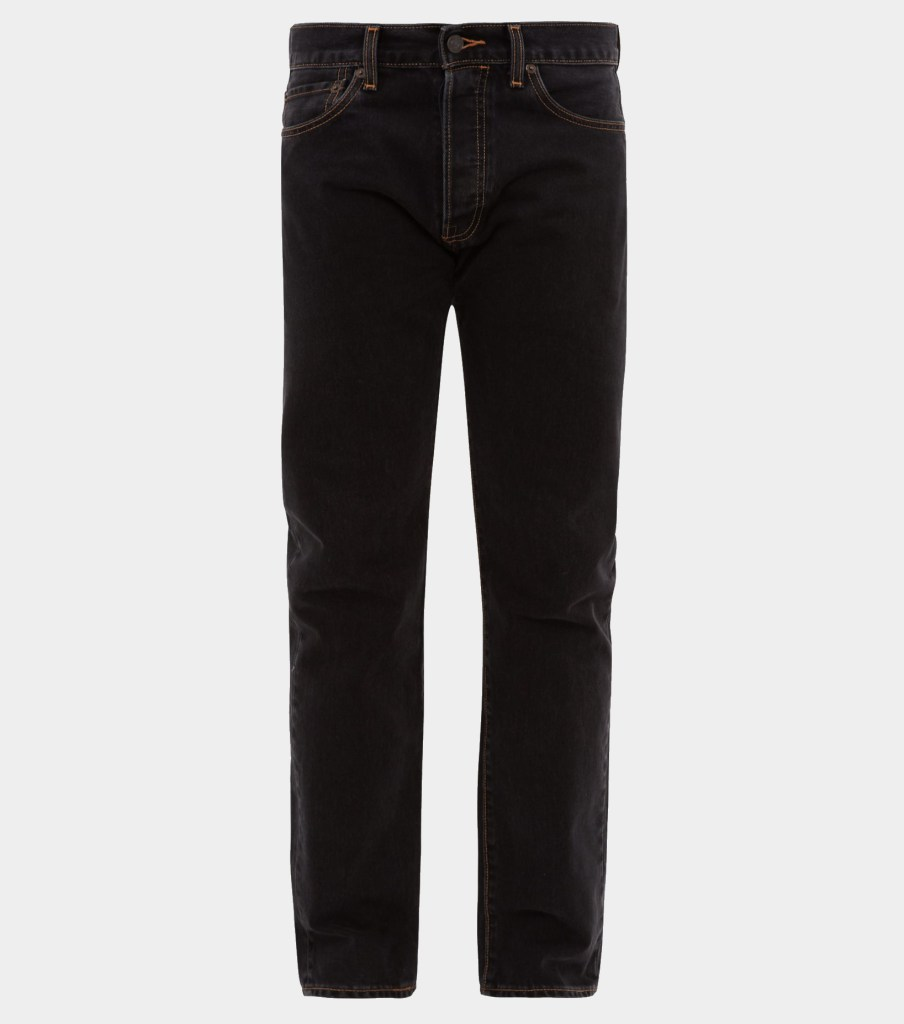 capsule wardrobe men's black jeans | wardrobe.nyc x levis