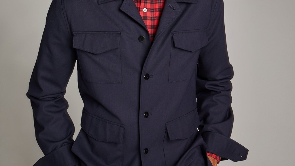 Todd Snyder Military Shirt Jacket