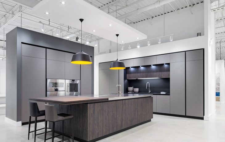 kitchen showroom aid stove toronto cabinet muti and bath located in the heart of design castlefield district s new state art 12 000 sq ft space features
