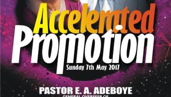 LIVE VIDEO: RCCG July 2018 Special Thanksgiving Service with