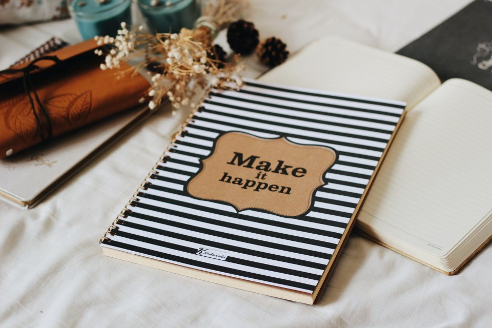 Make it Happen Notebook Keskin Color
