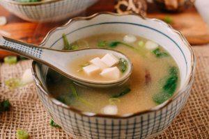Probiyotik miso çorbası
