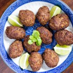 Quibe (Middle Eastern  Meat Croquettes)