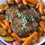 Simple Pressure Cooker Pot Roast
