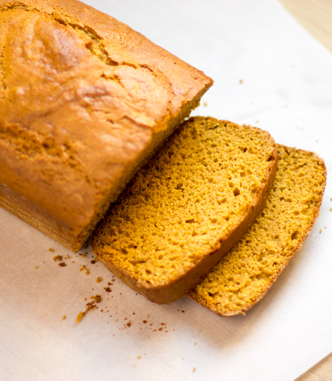 Pumpkin bread feature image