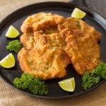 Garlic Lime Breaded Pork Cutlets