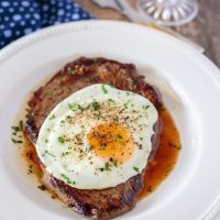 Brazilian Steak and Egg (Bife à Cavalo)