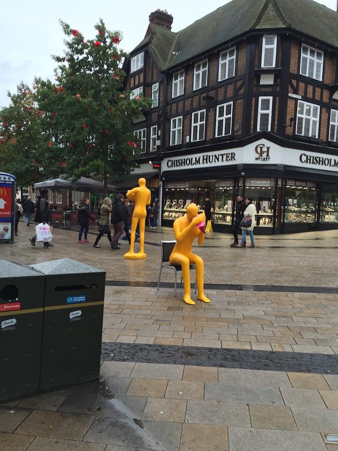 NHS yellow men