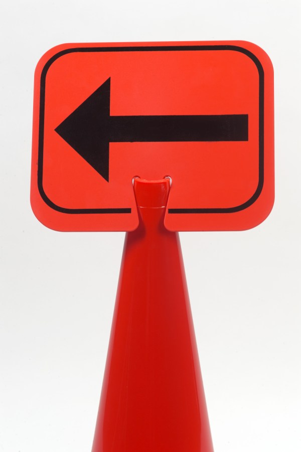 Traffic Cone Signs Mutual Industries