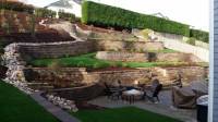 Make an Ugly Hillside Beautiful with Retaining Walls ...