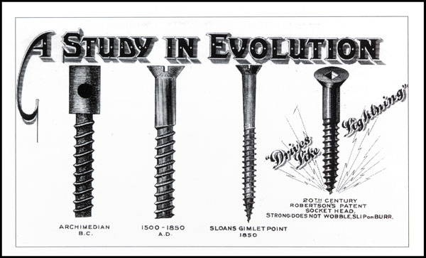 History of Robertson Screws