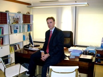 Pedro Osacar, director general de mutuavenir