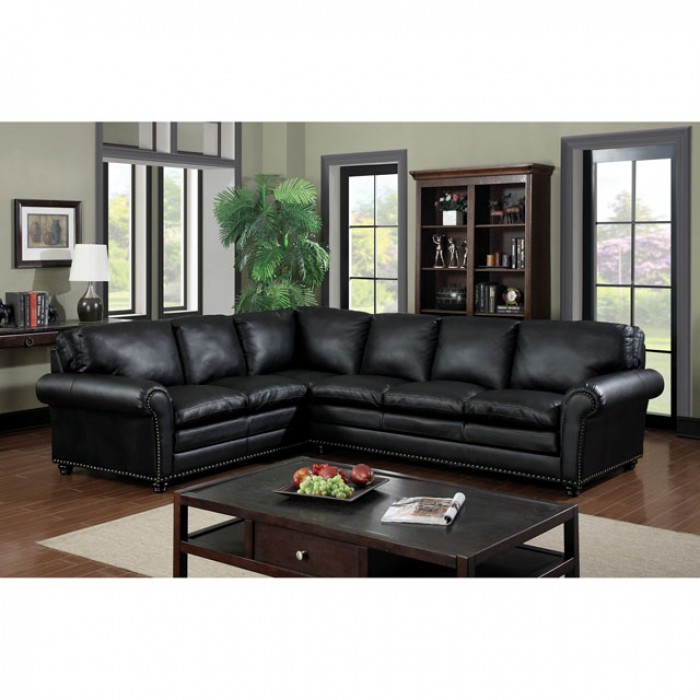 rialto black bonded leather chair bean bag chairs canada payette match sectional sofa couch shop for
