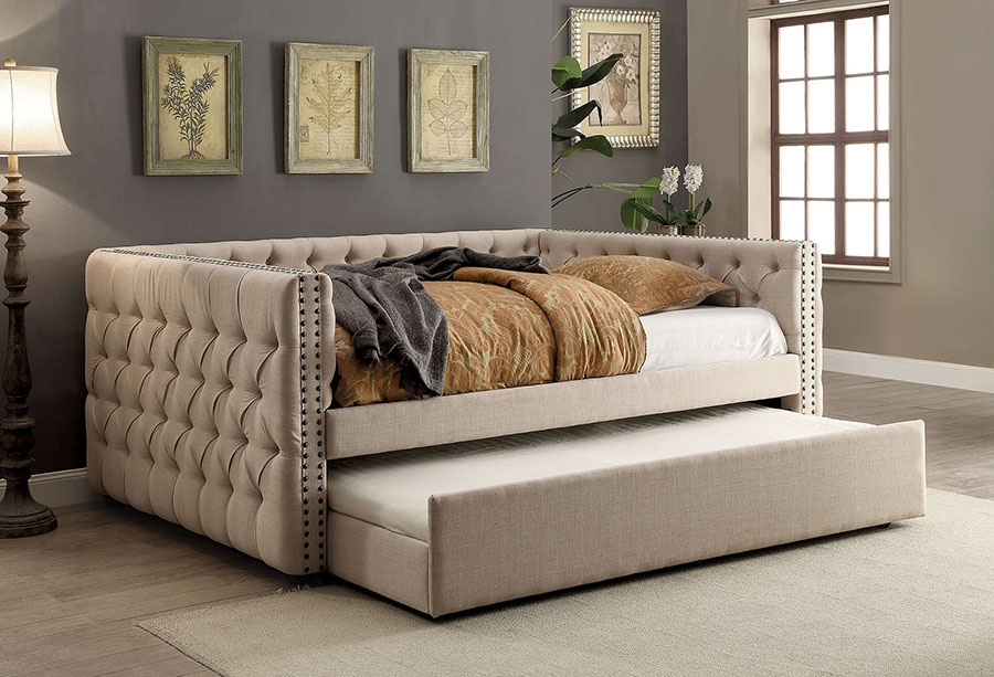 Suzanne Contemporary Full Size Daybed Shop For
