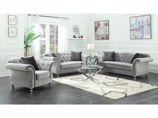 Silver Sofa Set Shop For Affordable Home Furniture