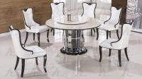 White Marble Top Round Dining Set - Shop for Affordable ...