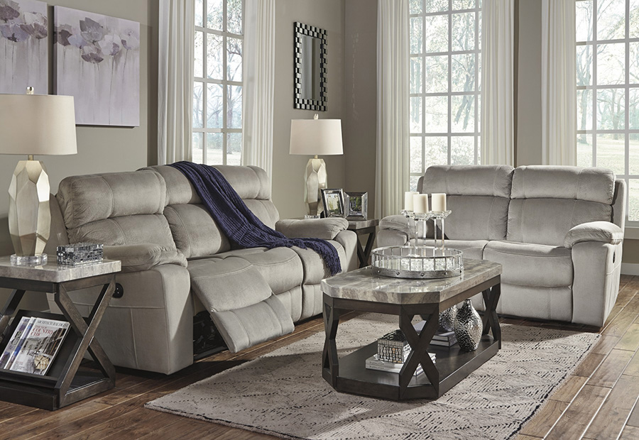sofas u love burbank fabrizio leather 6 piece chaise sectional sofa uhland granite power reclining set - shop for ...