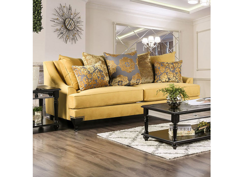 Viscontti Gold Sofa Shop For Affordable Home Furniture